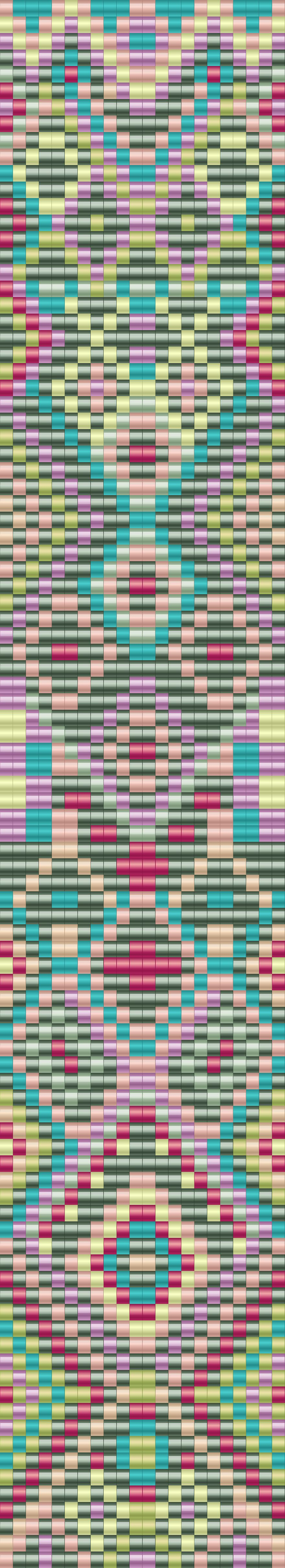 bead loom pattern on loom beading loom