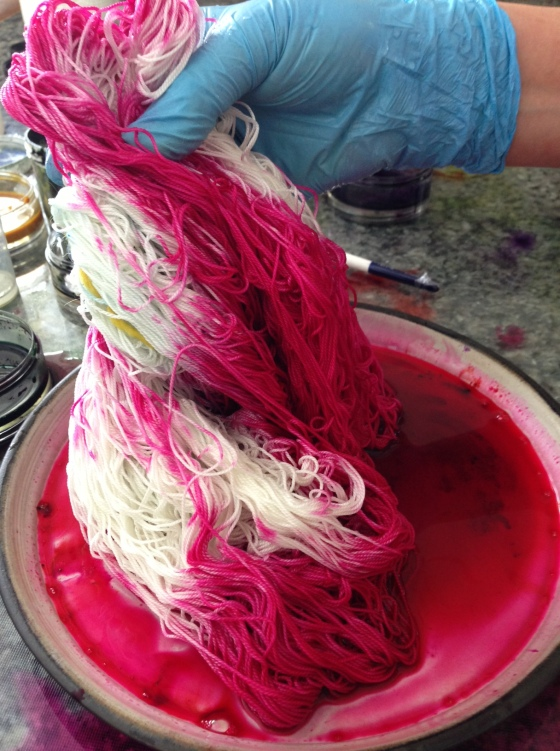 Painting Silk