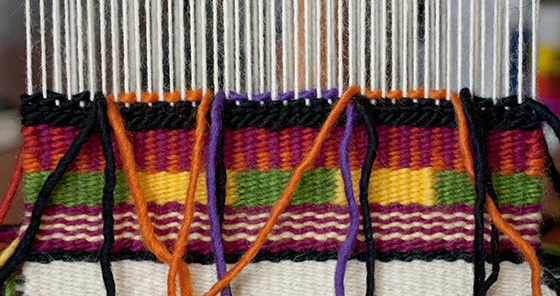 Intro to Tapestry Class: Slit Tapestry Technique |